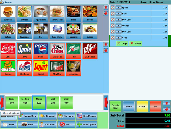 Point Of Sale For Fast Food Restaurants